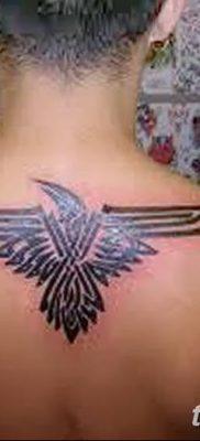 Фото тату ворон от 15.09.2018 №127 – raven tattoos – tatufoto.com
