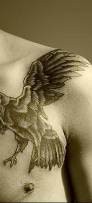 Фото тату ворон от 15.09.2018 №128 – raven tattoos – tatufoto.com