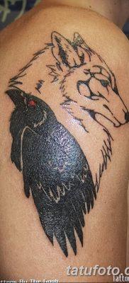 Фото тату ворон от 15.09.2018 №131 – raven tattoos – tatufoto.com