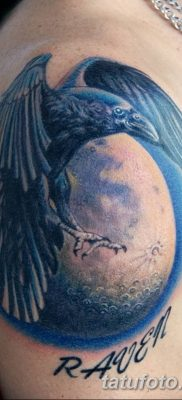 Фото тату ворон от 15.09.2018 №136 – raven tattoos – tatufoto.com
