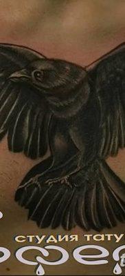 Фото тату ворон от 15.09.2018 №149 – raven tattoos – tatufoto.com