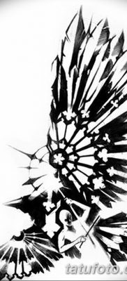 Фото тату ворон от 15.09.2018 №153 – raven tattoos – tatufoto.com
