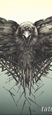 Фото тату ворон от 15.09.2018 №154 – raven tattoos – tatufoto.com
