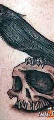 Фото тату ворон от 15.09.2018 №156 – raven tattoos – tatufoto.com