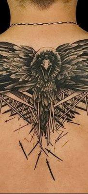Фото тату ворон от 15.09.2018 №162 – raven tattoos – tatufoto.com