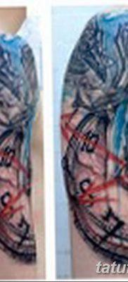 Фото тату ворон от 15.09.2018 №166 – raven tattoos – tatufoto.com