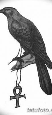 Фото тату ворон от 15.09.2018 №167 – raven tattoos – tatufoto.com