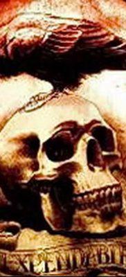 Фото тату ворон от 15.09.2018 №169 – raven tattoos – tatufoto.com