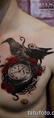 Фото тату ворон от 15.09.2018 №181 – raven tattoos – tatufoto.com