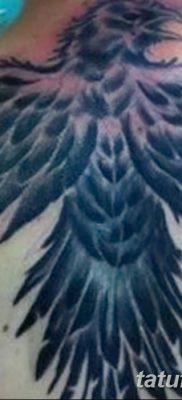 Фото тату ворон от 15.09.2018 №182 – raven tattoos – tatufoto.com