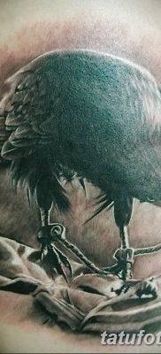 Фото тату ворон от 15.09.2018 №184 – raven tattoos – tatufoto.com