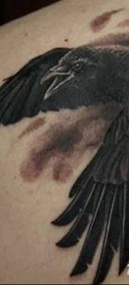 Фото тату ворон от 15.09.2018 №193 – raven tattoos – tatufoto.com