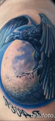 Фото тату ворон от 15.09.2018 №195 – raven tattoos – tatufoto.com