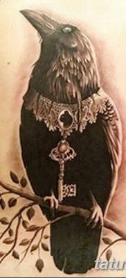 Фото тату ворон от 15.09.2018 №209 – raven tattoos – tatufoto.com