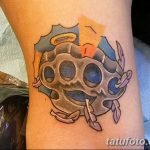 Фото тату кастет от 11.09.2018 №028 - tattoo brass knuckles - tatufoto.com