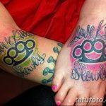 Фото тату кастет от 11.09.2018 №031 - tattoo brass knuckles - tatufoto.com