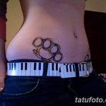 Фото тату кастет от 11.09.2018 №037 - tattoo brass knuckles - tatufoto.com