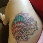 Фото тату кастет от 11.09.2018 №092 - tattoo brass knuckles - tatufoto.com