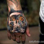 Фото тату кастет от 11.09.2018 №138 - tattoo brass knuckles - tatufoto.com