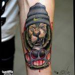 Фото тату кастет от 11.09.2018 №151 - tattoo brass knuckles - tatufoto.com
