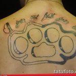 Фото тату кастет от 11.09.2018 №178 - tattoo brass knuckles - tatufoto.com