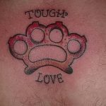 Фото тату кастет от 11.09.2018 №184 - tattoo brass knuckles - tatufoto.com