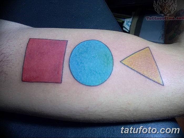 Фото тату квадрат от 15.09.2018 №030 - Square Tattoo - tatufoto.com