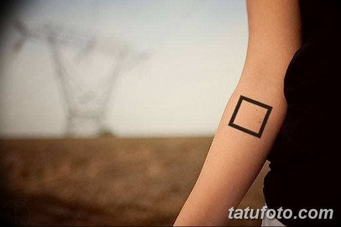 Фото тату квадрат от 15.09.2018 №035 - Square Tattoo - tatufoto.com