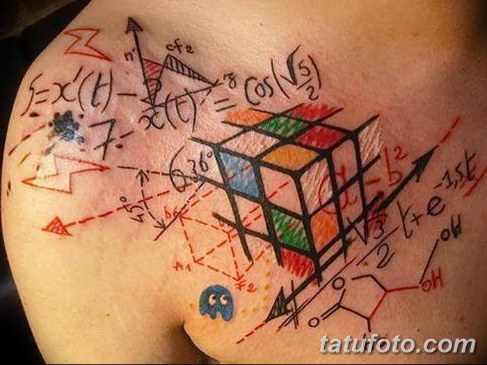 Фото тату квадрат от 15.09.2018 №040 - Square Tattoo - tatufoto.com