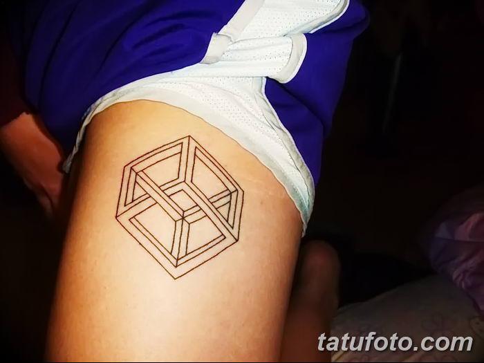 Фото тату квадрат от 15.09.2018 №044 - Square Tattoo - tatufoto.com