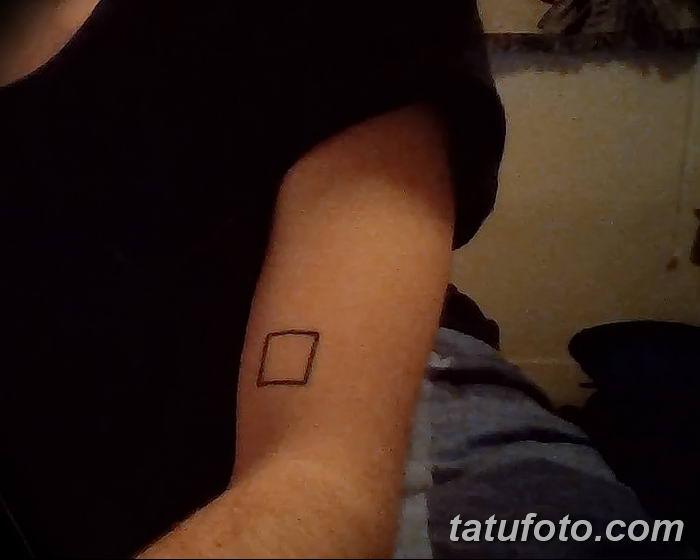 Фото тату квадрат от 15.09.2018 №049 - Square Tattoo - tatufoto.com