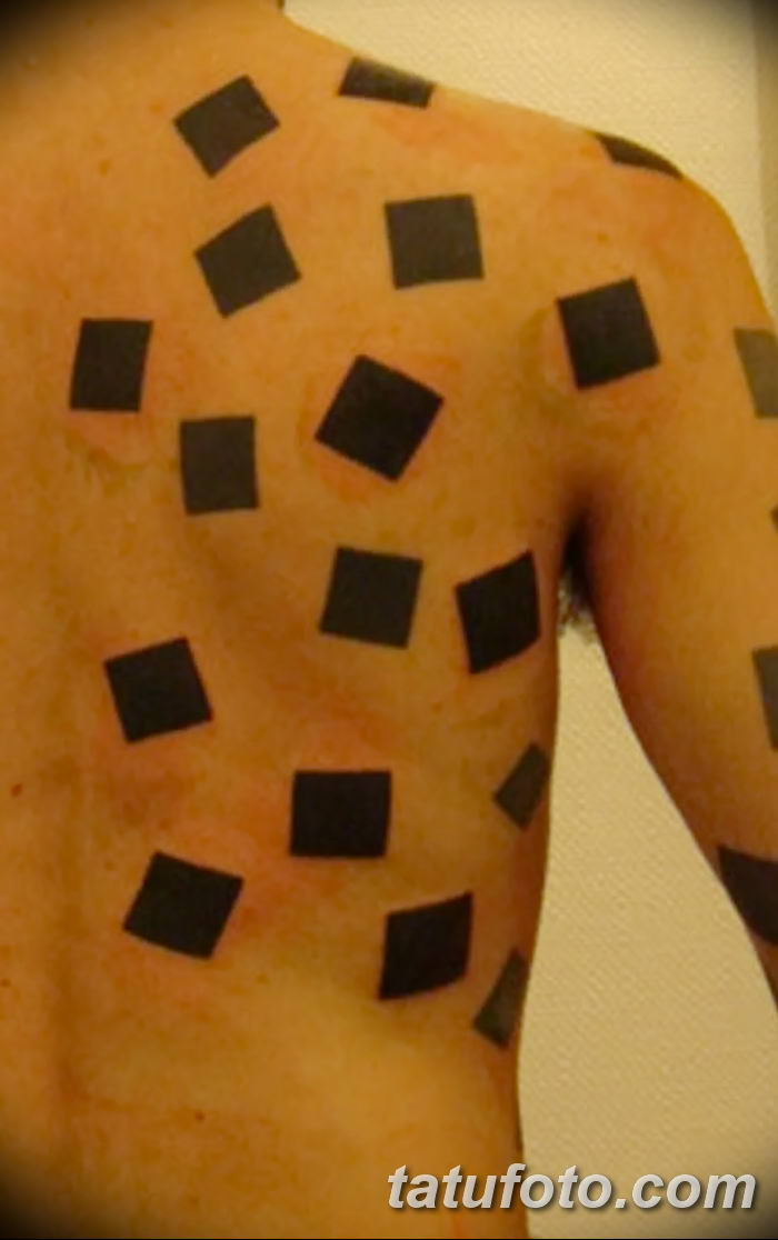 Фото тату квадрат от 15.09.2018 №055 - Square Tattoo - tatufoto.com