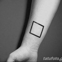 Значение тату квадрат