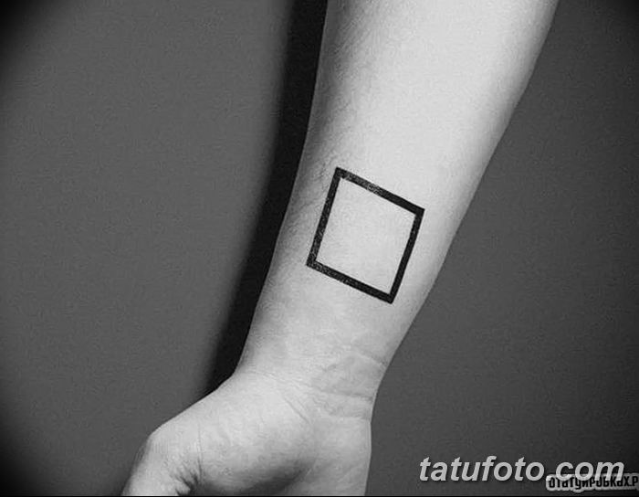 Фото тату квадрат от 15.09.2018 №066 - Square Tattoo - tatufoto.com