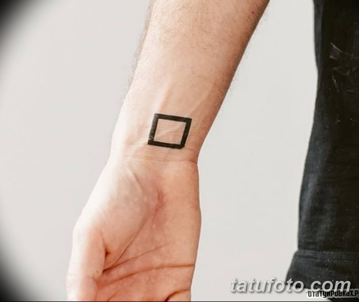 Фото тату квадрат от 15.09.2018 №067 - Square Tattoo - tatufoto.com