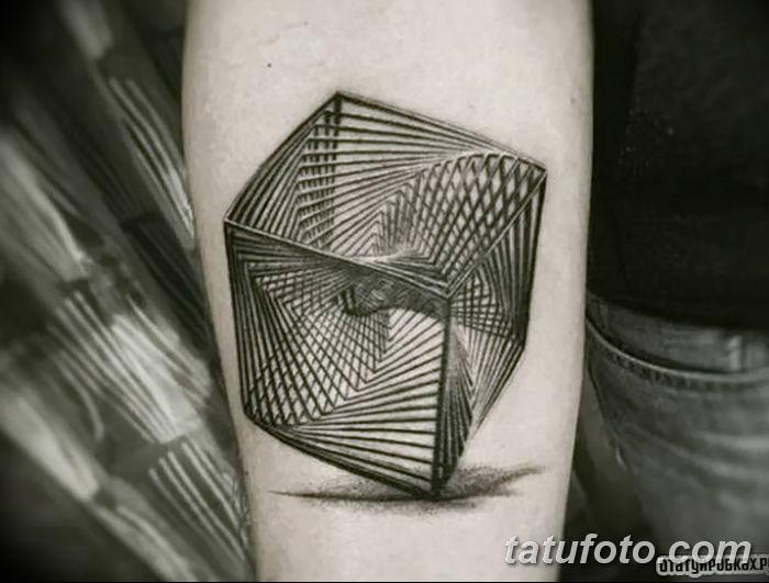 Фото тату квадрат от 15.09.2018 №071 - Square Tattoo - tatufoto.com
