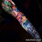 Фото тату комиксы супергерои от 03.09.2018 №003 - tattoos comics superher - tatufoto.com