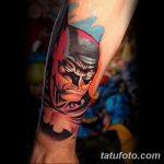 Фото тату комиксы супергерои от 03.09.2018 №006 - tattoos comics superher - tatufoto.com