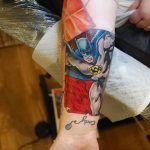 Фото тату комиксы супергерои от 03.09.2018 №007 - tattoos comics superher - tatufoto.com
