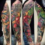Фото тату комиксы супергерои от 03.09.2018 №011 - tattoos comics superher - tatufoto.com