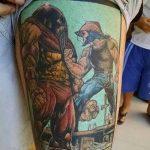 Фото тату комиксы супергерои от 03.09.2018 №026 - tattoos comics superher - tatufoto.com