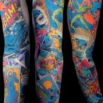 Фото тату комиксы супергерои от 03.09.2018 №027 - tattoos comics superher - tatufoto.com