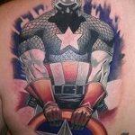 Фото тату комиксы супергерои от 03.09.2018 №028 - tattoos comics superher - tatufoto.com