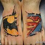 Фото тату комиксы супергерои от 03.09.2018 №029 - tattoos comics superher - tatufoto.com