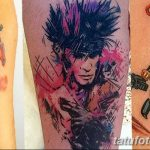 Фото тату комиксы супергерои от 03.09.2018 №030 - tattoos comics superher - tatufoto.com