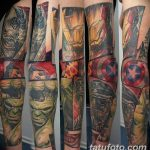 Фото тату комиксы супергерои от 03.09.2018 №035 - tattoos comics superher - tatufoto.com