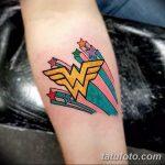 Фото тату комиксы супергерои от 03.09.2018 №038 - tattoos comics superher - tatufoto.com