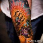 Фото тату комиксы супергерои от 03.09.2018 №044 - tattoos comics superher - tatufoto.com