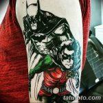 Фото тату комиксы супергерои от 03.09.2018 №050 - tattoos comics superher - tatufoto.com