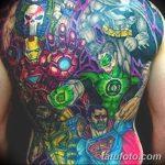 Фото тату комиксы супергерои от 03.09.2018 №052 - tattoos comics superher - tatufoto.com